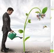 businessman-plant-money-